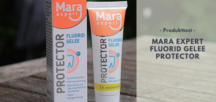 MARA EXPERT FLUORID GELEE PROTECTOR bei überempfindlichen Zahnhälsen