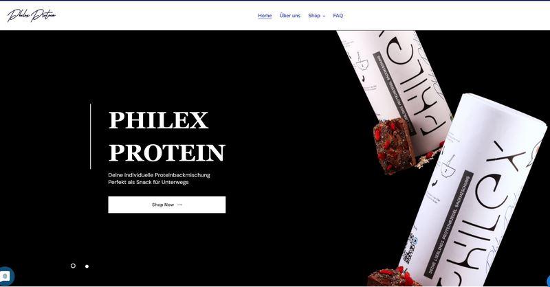 PHILEX Protein-Backmischungen - High-Proteinriegel ohne Zusätze selbst backen