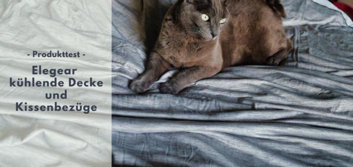 Elegear kühlende Decke und Kissenbezüge für einen erholsamen Schlaf