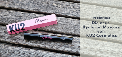 KU2 Hyaluron Mascara für einen wunderschönen Augenaufschlag