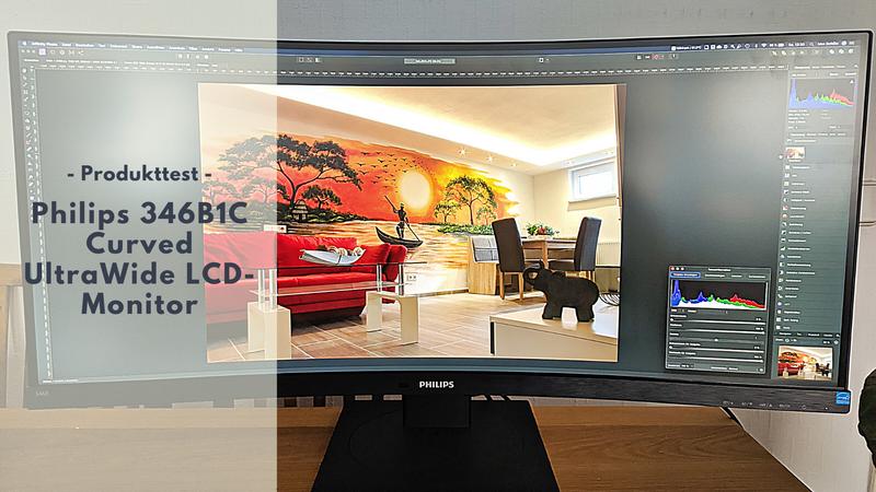 Philips 346B1C Curved UltraWide LCD-Monitor - Perfekt fürs Home Office