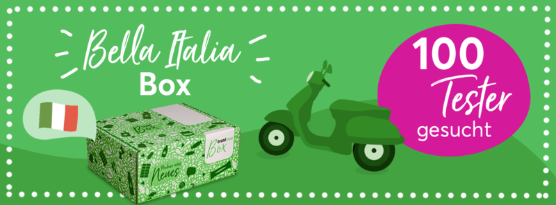 100 Tester für Bella Italia Box von brandnooz gesucht