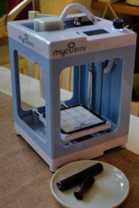 mycusini® Schoko-Drucker - Individuelle Schokoladendeko für Kuchen & Co.