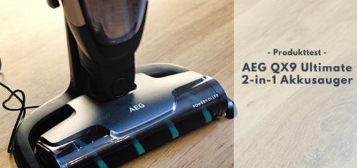 AEG QX9 Ultimate 2-in-1 Akkustaubsauger - Style, Power & Effizienz