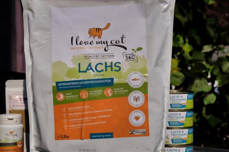 »I love my cat« 360° Vitalkonzept von marsapet für eine gesunde Samtpfote