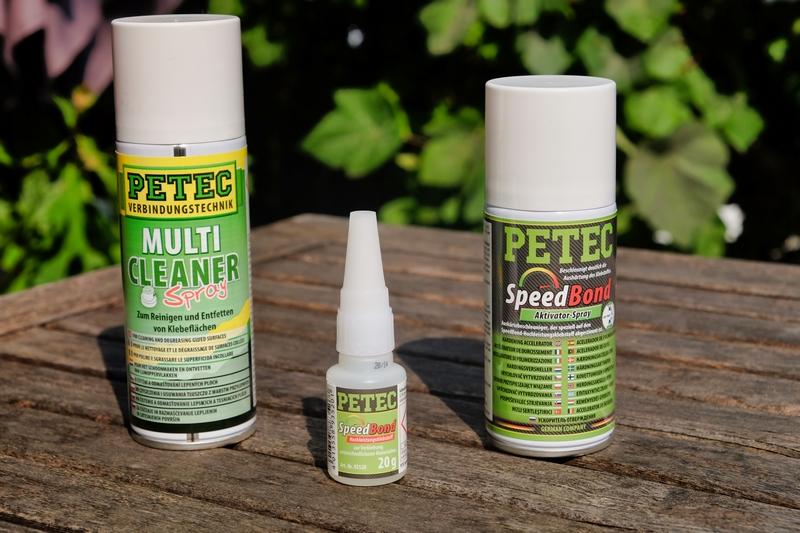 PETEC SpeedBond Klebesystem im Test