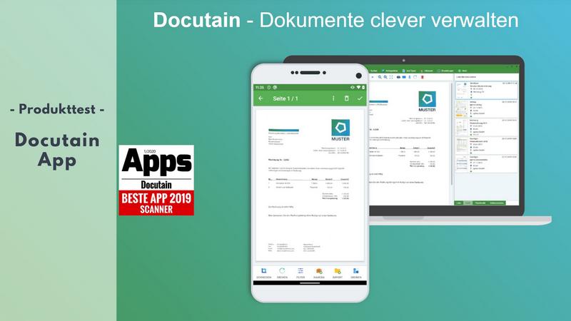 Docutain App im Test