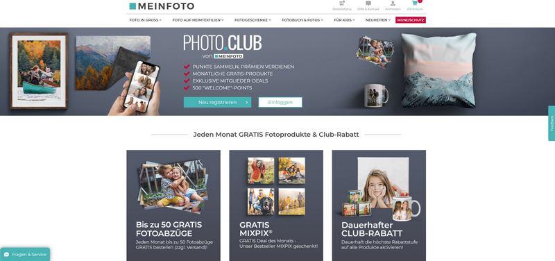 MEINFOTO.de - Individuelle Fotogeschenke in TOP-Qualität