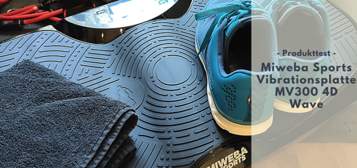 Miweba Sports Vibrationsplatte MV300 4D Wave - Effizientes Training im Home Gym