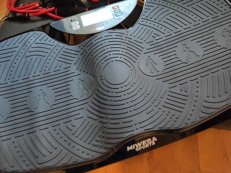 Miweba Sports Vibrationsplatte MV300 4D Wave