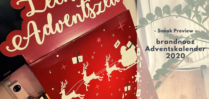 brandnooz Adventskalender 2020 - Sneak Preview