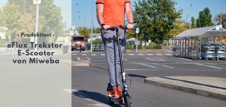 eFlux Trekstor E-Scooter von miweba im Test