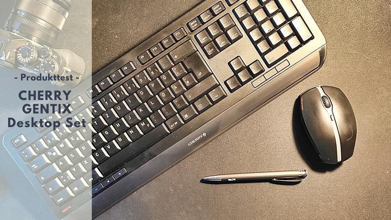 CHERRY GENTIX Desktop Bundle für effizientes Arbeiten im Home Office