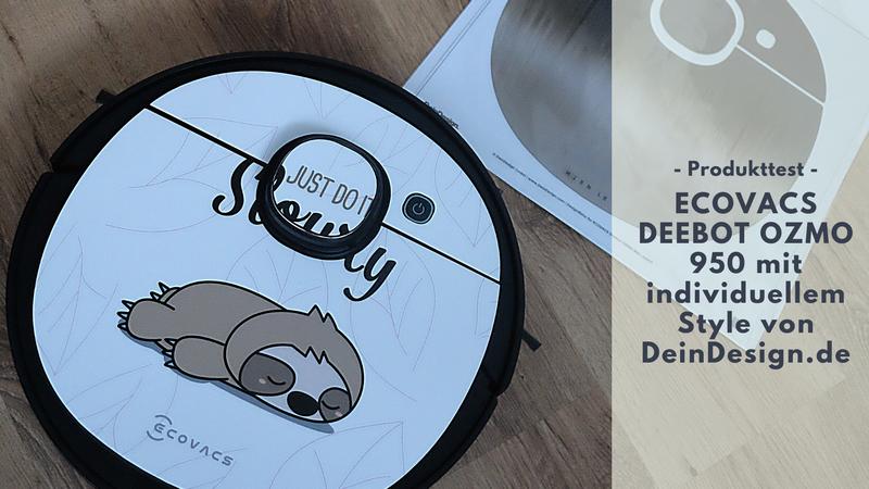 DEEBOT OZMO 950 Saug- & Wischroboter - Mehr Freizeit und individueller Style mit DeinDesign.de