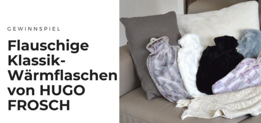 Gewinnt superflauschige Klassik-Wärmflasche mit »Tierfelloptik-Bezug« von HUGO FROSCH