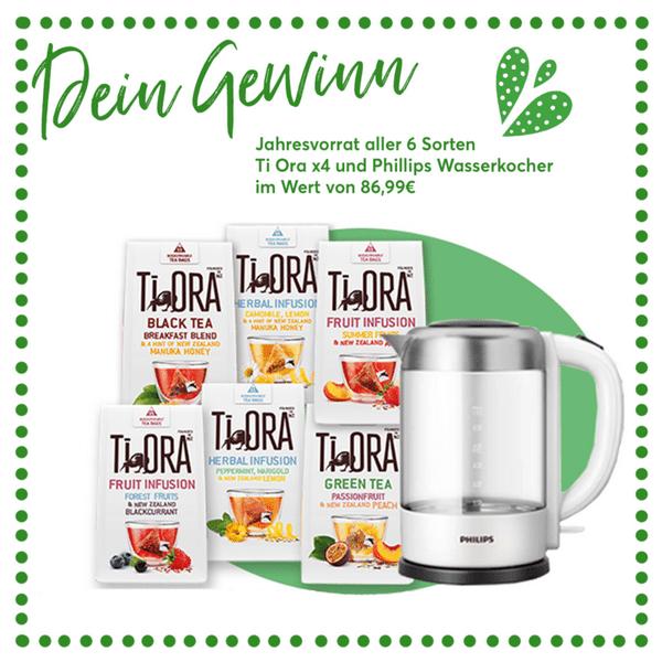 500 Tester für Ti Ora Teesorten aus Neuseeland gesucht