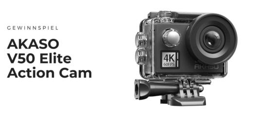 Gewinnt die hochwertige AKASO V50 Elite Action Cam