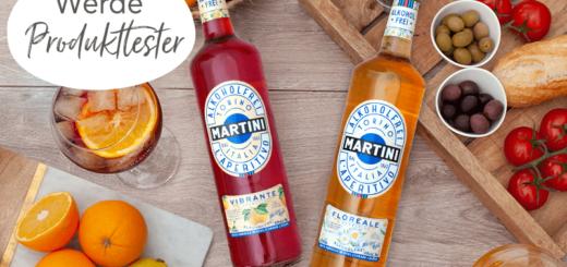 800 Tester für MARTINI Alkoholfrei Vibrante und Floreale gesucht