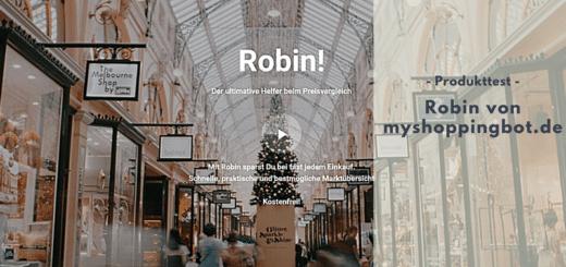 Robin von myshoppingbot.de - Der kleine Shoppinghelfer, mit dem man bares Geld sparen kann