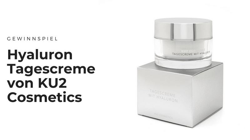 Hyaluron Tagescreme von KU2 Cosmetics für frische, vitale Haut