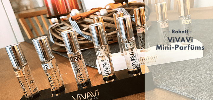 Rabatt beim Kauf von ViVAVi Parfüms