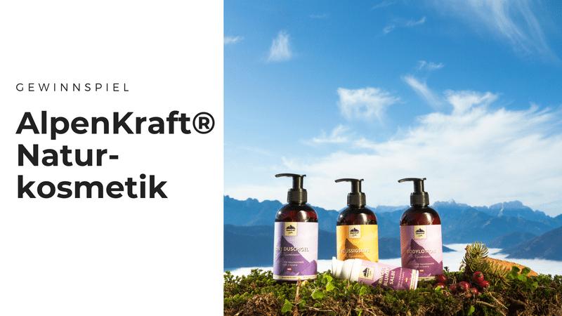 Naturkosmetik von AlpenKraft® aus Tiroler Alpenkräutern im Test