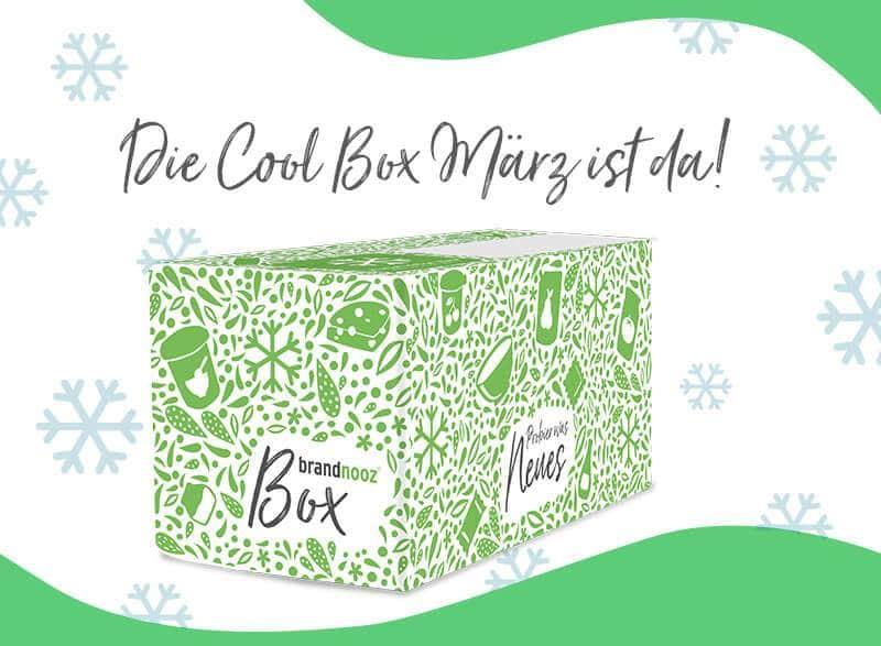 brandnooz Cool Box März 2021