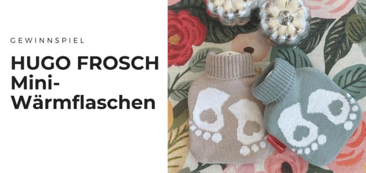 Gewinnt kuschelige Mini-Wärmflaschen von HUGO FROSCH