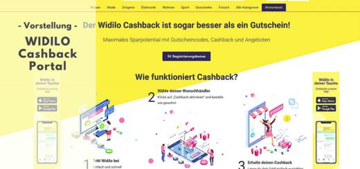 WIDILO - Das große Cashback-Portal vorgestellt