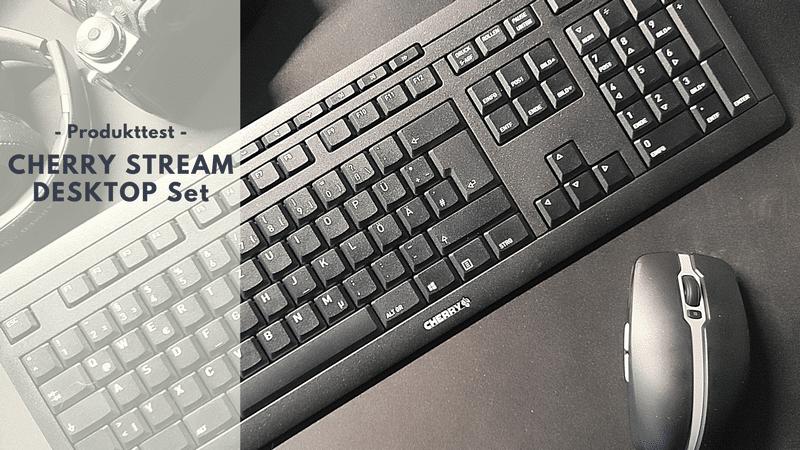 CHERRY STREAM DESKTOP Set - Ideal für Office und Vielschreiber