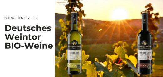 Gewinnt die neuen BIO-Weine von Deutsches Weintor