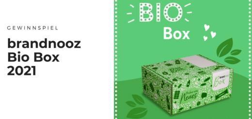 Gewinnt limitierte brandnooz Bio Boxen