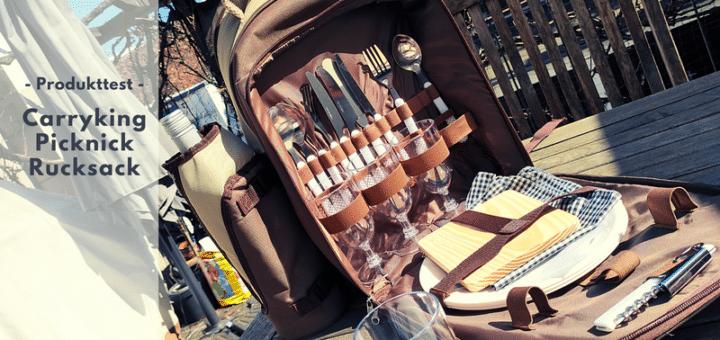 Carryking Picknick-Rucksack von elasto - Ein Must-Have für die Outdoorsaison 2021