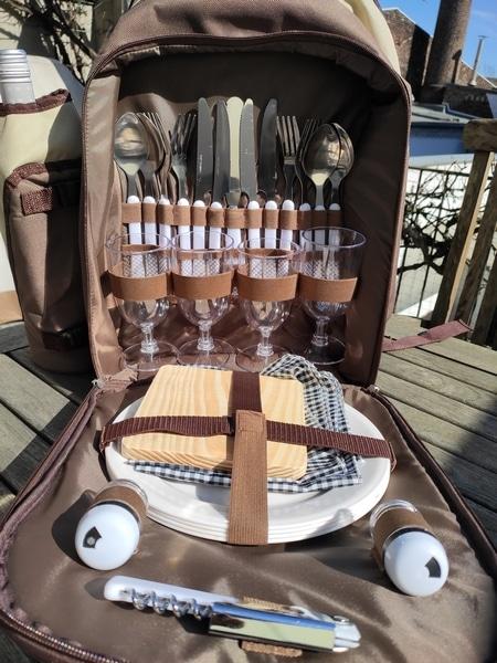 Carryking Picknick-Rucksack Innenseite
