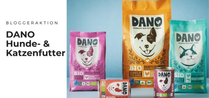 Blogger für hochwertiges Katzen- oder Hundefutter von DANO