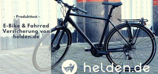 helden.de - Premiumversicherung für Dein Fahrrad oder E-Bike