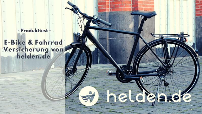 Helden.de Premiumversicherung für dein Fahrrad oder E-Bike