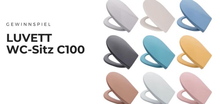 Gewinnt hochwertigen WC-Sitz C100 von LUVETT