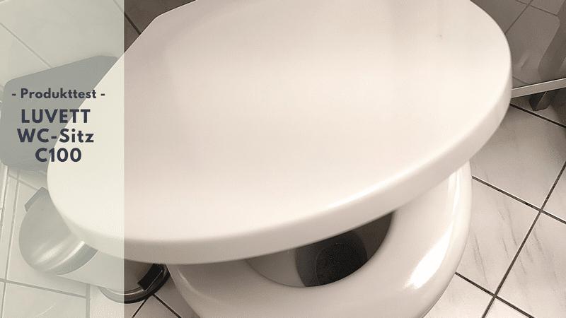 LUVETT WC-Sitz C100 aus Duroplast im Test