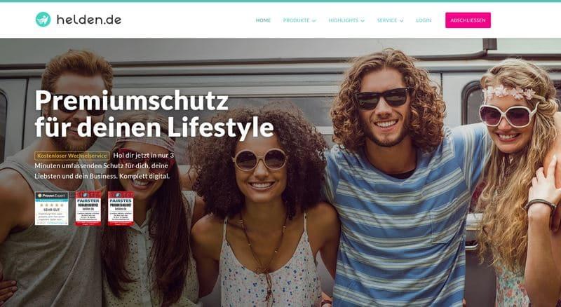 helden.de Website
