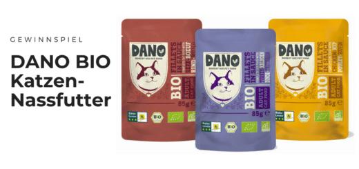 Gewinnt DANO BIO-Produktpakete für Eure Samtpfoten