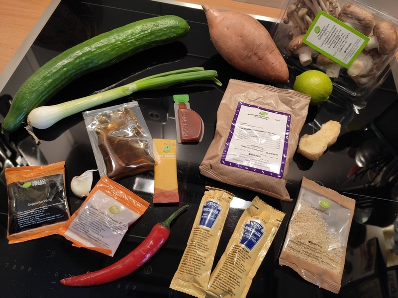HelloFresh Kochbox - nie wieder, da absoluter Reinfall!