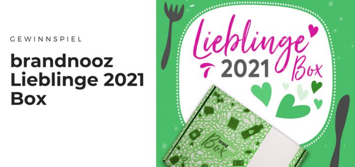 Gewinnt limitierte brandnooz Lieblinge 2021 Boxen