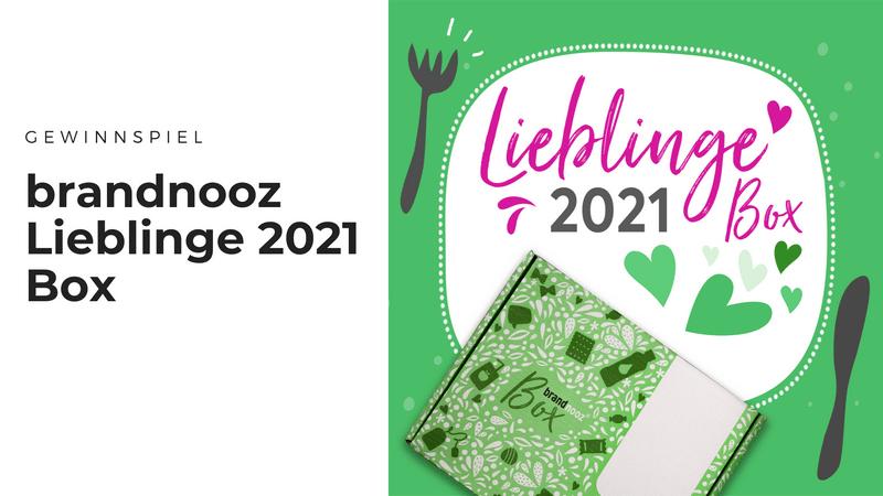 brandnooz Lieblinge 2021 Box