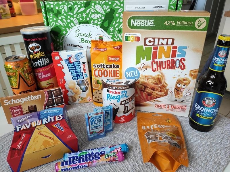 brandnooz Snack Box by Junk Food Guru vorgestellt