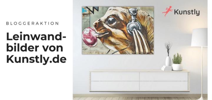 Blogger für Unikat-Leinwandbilder von Kunstly.de gesucht