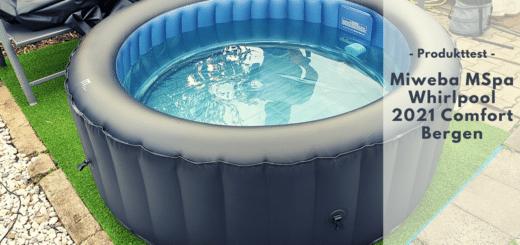 MIWEBA MSpa Bergen Outdoor Whirlpool - Entspannung pur im eigenen Garten