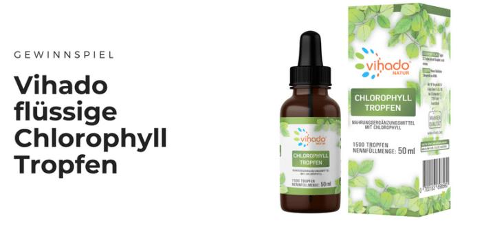 Gewinnt hochwertige Vihado Chlorophyll Tropfen