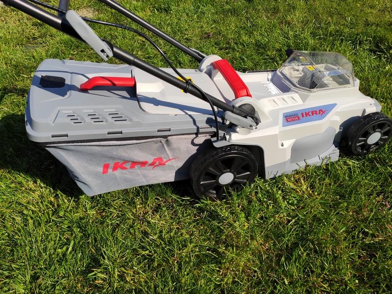 IKRA Akku Rasenmäher ICM 2/2037 für kleine Rasenflächen