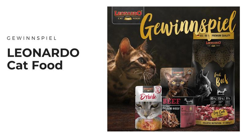 LEONARDO Cat Food Fresh Meat - Hochwertiges Futter für unsere Fellnasen